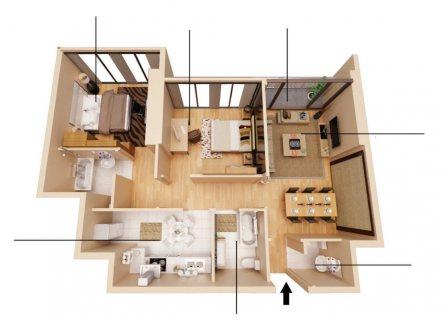 غرفتين وصالة في الشارقة قمة الرفاهية بقسط شهري 6900