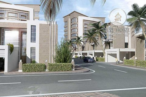 للبيع..مجمع فيلتين في شارع المطار أبوظبي