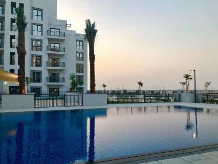تملك شقة غرفتين  بقلب دبي بمنطقة تاون سكوير تقسيط5سنوات