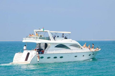 YACHT 80 Ft FOR SALE!! 740,000 AED