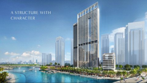 مدينة كاملة تبني بقلب دبي على ضفاف الخور