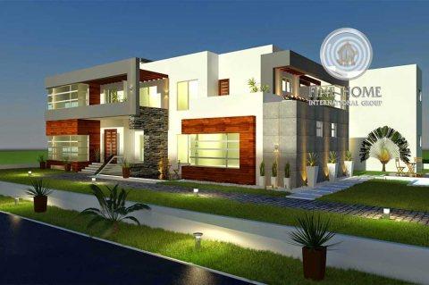 للبيع..فيلا 9 غرف على زاوية في المقطع أبوظبي