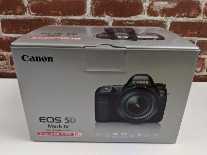 كاميرا SLR الرقمية كاملة الإطار من كانون EOS 5D مع عدسة EF 24-105mm II USM