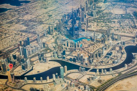 على بعد 9 دقائق من برج خليفة في الخليج التجاري