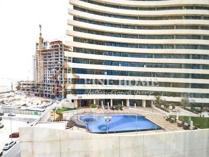 للبيع..شقة 3 غرف نوم بأطلالة بحرية أبوظبي