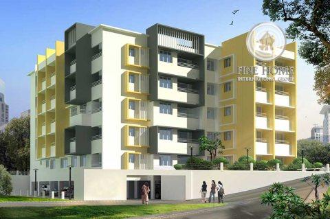 للبيع..بناية 5 طوابق على شارعين في معسكر آل نهيان أبوظبي