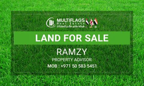 للبيع ارض سكني تجارى شارع وسكة بمصفوت 8 مقابل محكمة مصفوت