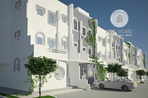 للبيع..مجمع 3 فلل مميز في منطقة المرور أبوظبي