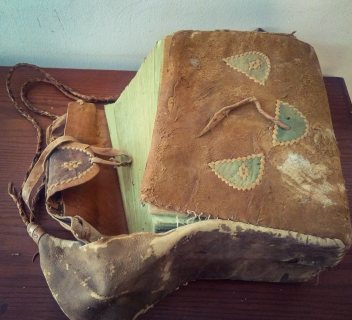 قرآن كريم مكتوب بخط اليد اثري