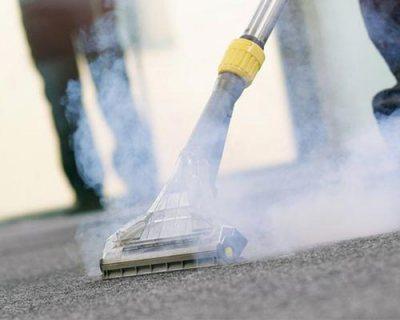 تنظيف السجاد بالبخار