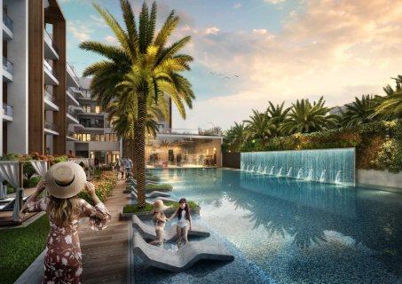 بالتقسيط علي 10 سنوات لبعد الاستلام تملك  شقة غرفة وصاله بأرقي مناطق دبي