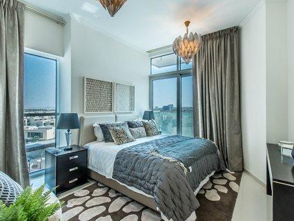 شقة غرفتي نوم بإطلالة إستثنائية على الجولف في دبي