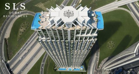 عنوان الفخامة تملك شقتك في أرقى المشاريع بدبي مشروع SLS دبي