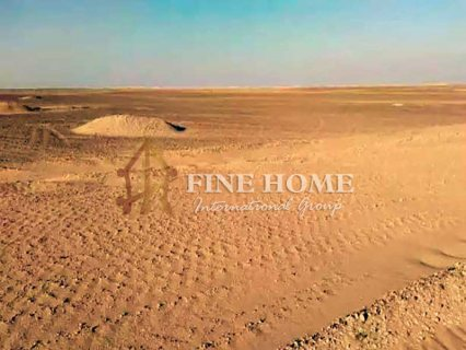 للبيع..أرض سكنية على شارعين فى مدينة خليفة ابوظبي