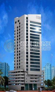 للبيع..برج 18 طابق في منطقة النادي السياحي أبوظبي