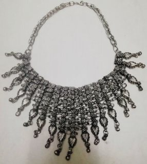 2 Silver Necklaces With historical value