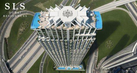 عنوان الفخامة والتميز المطلق بموقع خيالي ...مشروع SLS دبي