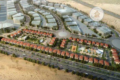 للبيع | مجمع 32 فيلا مع جيم و حمام سباحة | مدينة محمد بن زايد أبوظبي