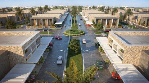 فيلا تاون هاوس في دبي وادي صفا ب 590 الف درهم