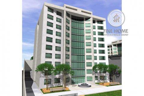 للبيع   بناية 9 طوابق على شارعين   منطقة النادي السياحي أبوظبي