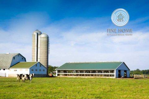 للبيع | مزرعة مساحتها 225 ألف قدم مربع | مزارع الختم أبوظبي
