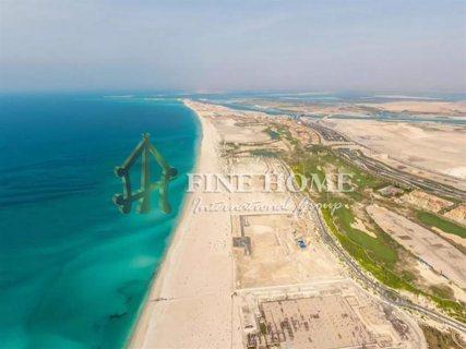 للبيع | أرض سكنية رائعة تطل على البحر مباشرة | قرية مارينا أبوظبي