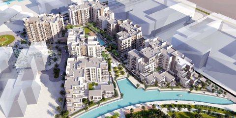 تملك شقة ذات إطلالة مفتوحة على القناة و البوليفارد التجاري في الشارقة