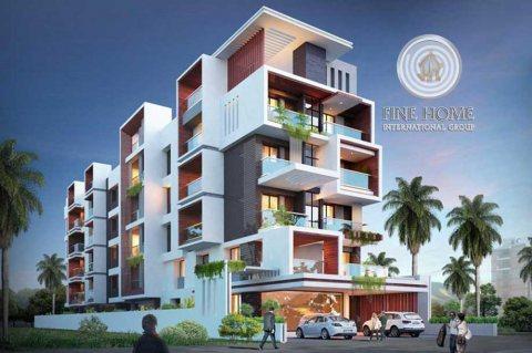 للبيع | بناية 3 طوابق على شارع رئيسي | مدينة محمد بن زايد أبوظبي
