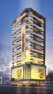 تملك شقة في مشروع ( أرت تاور) في منطقة النهدة بالشارقة, قريب صحارى مول