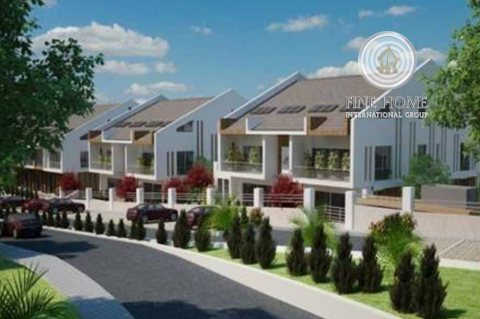 للبيع | مجمع فيلتين مع حديقة على زاويتين و3 شوارع | الفلاح أبوظبي
