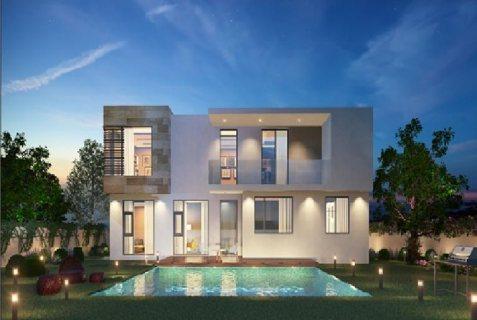 فيلا 5 غرف نوم مع حماماتها على شارع الإمارات  ضمن مشروع متكامل في الشارقة
