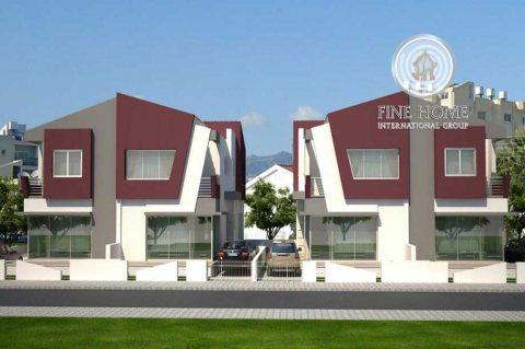 للبيع | مجمع فيلتين 5 غرف لكل فيلا | مدينة الشامخة أبوظبي
