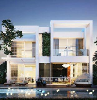 فيلا 3 غرف نوم وسط ملاعب الغولف في دبي  ب 999 ألف درهم