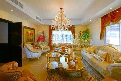 للبيع   فيلا 4 غرف مفروشة بمساحة : 10,000 قدم مربع   مجمع الفرسان أبوظبي