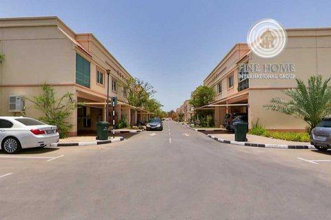 للبيع | فيلا 4 غرف مع حوش وحديقة في السيشور | بوابة أبوظبي