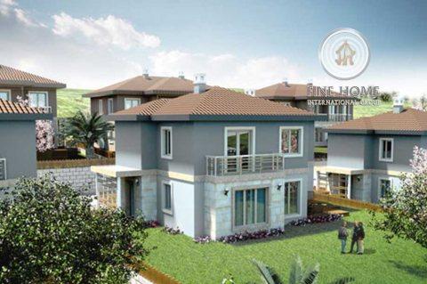 للبيع   مجمع 4 فلل 6 غرف نوم وطابقين لكل فيلا   مدينة محمد بن زايد أبوظبي