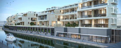 شقة دوبلكس مفروشة بالكامل ذات تراسات على القناة المائية في أبوظبي