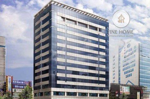 برج | 17 طابق على زاوية وشارعين | شارع النجدة أبوظبي