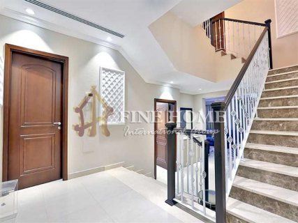 للبيع |  فيلا 4 غرف نوم تشطيب سوبر لوكس | بوابة الشرق أبوظبي