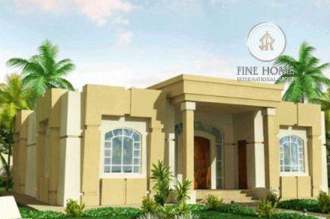 للبيع | بيت شعبي 5 غرف على زاوية و شارعين | بني ياس أبوظبي