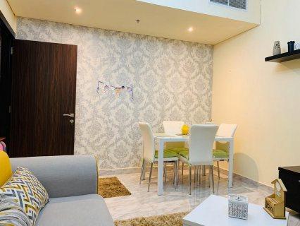 للايجار شقة مفروشة بالتعاون غرفة وصالة فرش ممتاز