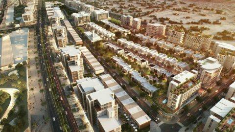 fسعر مميز جدا وبالتقسيط تملك منزل تاون هاوس علي شارع محمد بن زايد