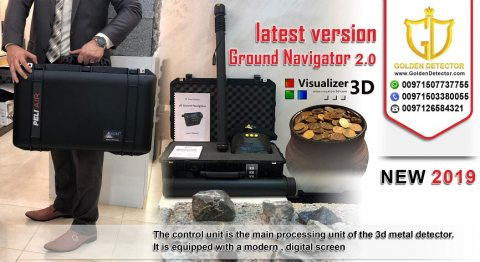 .3D Gold Detector Ground Navigator