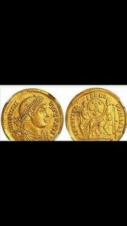 عملة رومانية نادرة قبل 1700 سنة