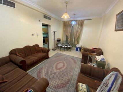 للايجار شقة مفروشة بالقاسمية غرفة وصالة فرش جيد تكيف وغاز مركزي