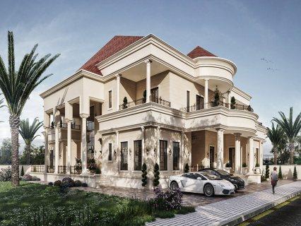 للبيع ..فيلا | 8 غرف نوم ماستر | المشرف أبوظبي