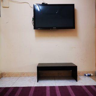 للايجار شقة مفروشة بالتعاون غرفة وصالة