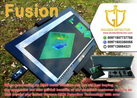 OKM Fusion Professional Metal Detector | Golden Detector company