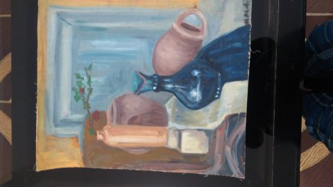 لوحة فنية قديمة للفنان العالمي Henri Matisse