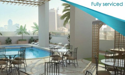 شقة غرفة وصالة في النهدة فالشارقة بقسط شهري 3500 درهم